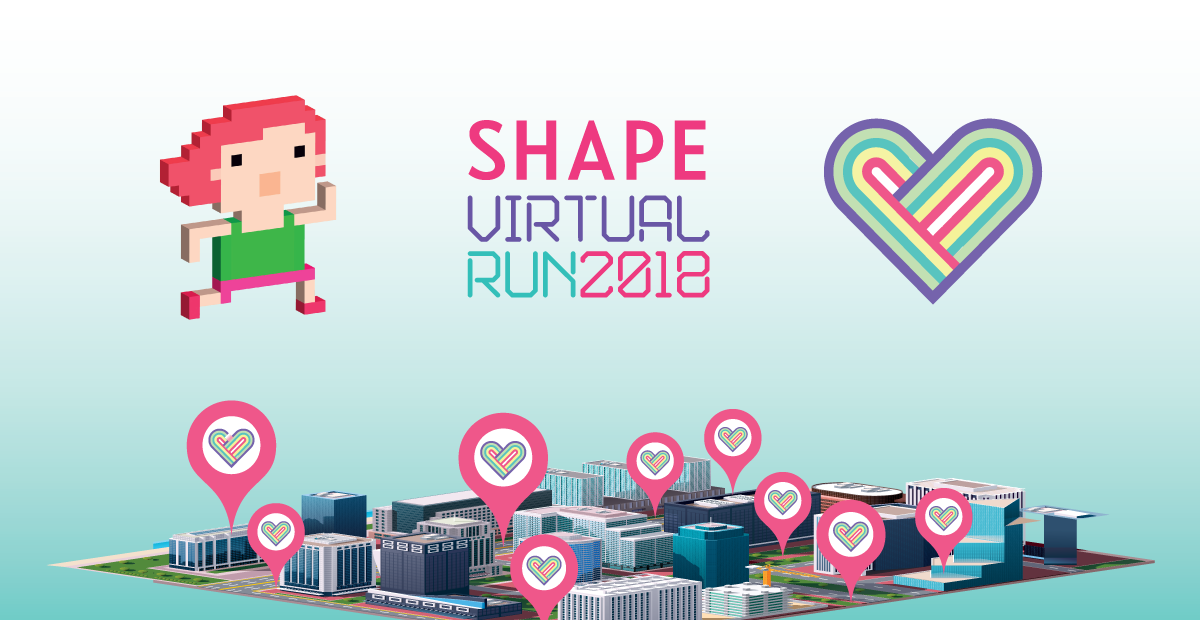 Logo of Shape Virtual Run 2018