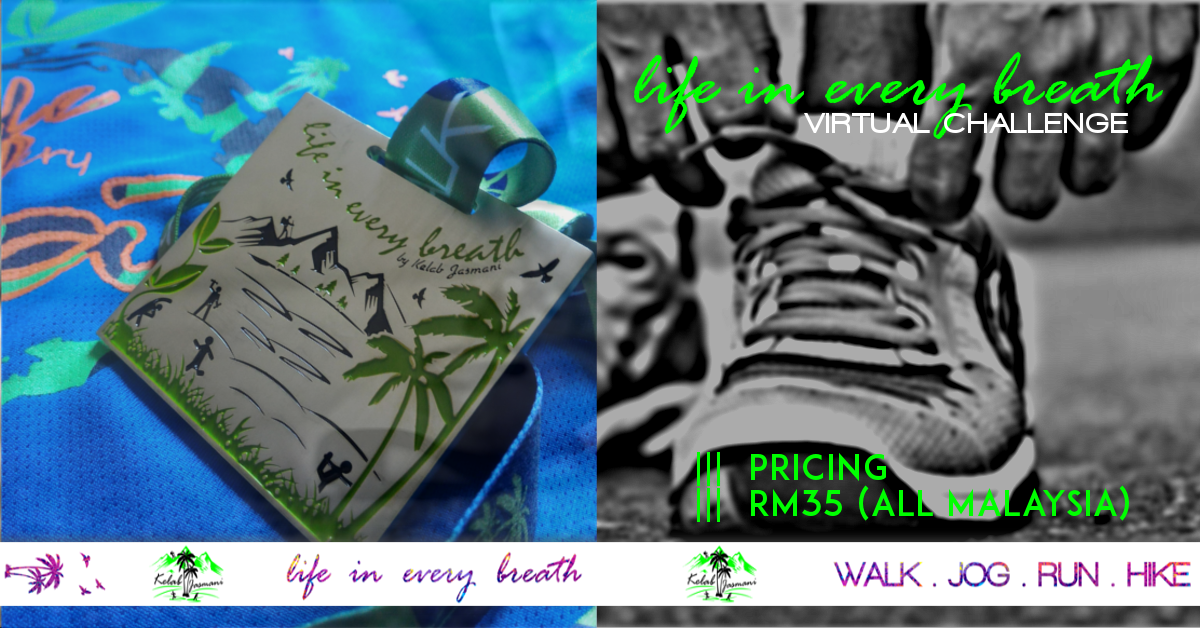 Logo of 21K Virtual Run: Life In Every Breath