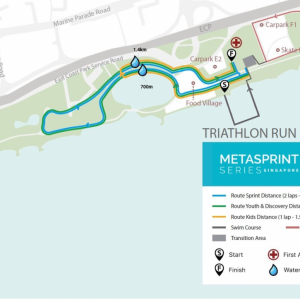 MetaSprint Series Singapore 2019 – Triathlon