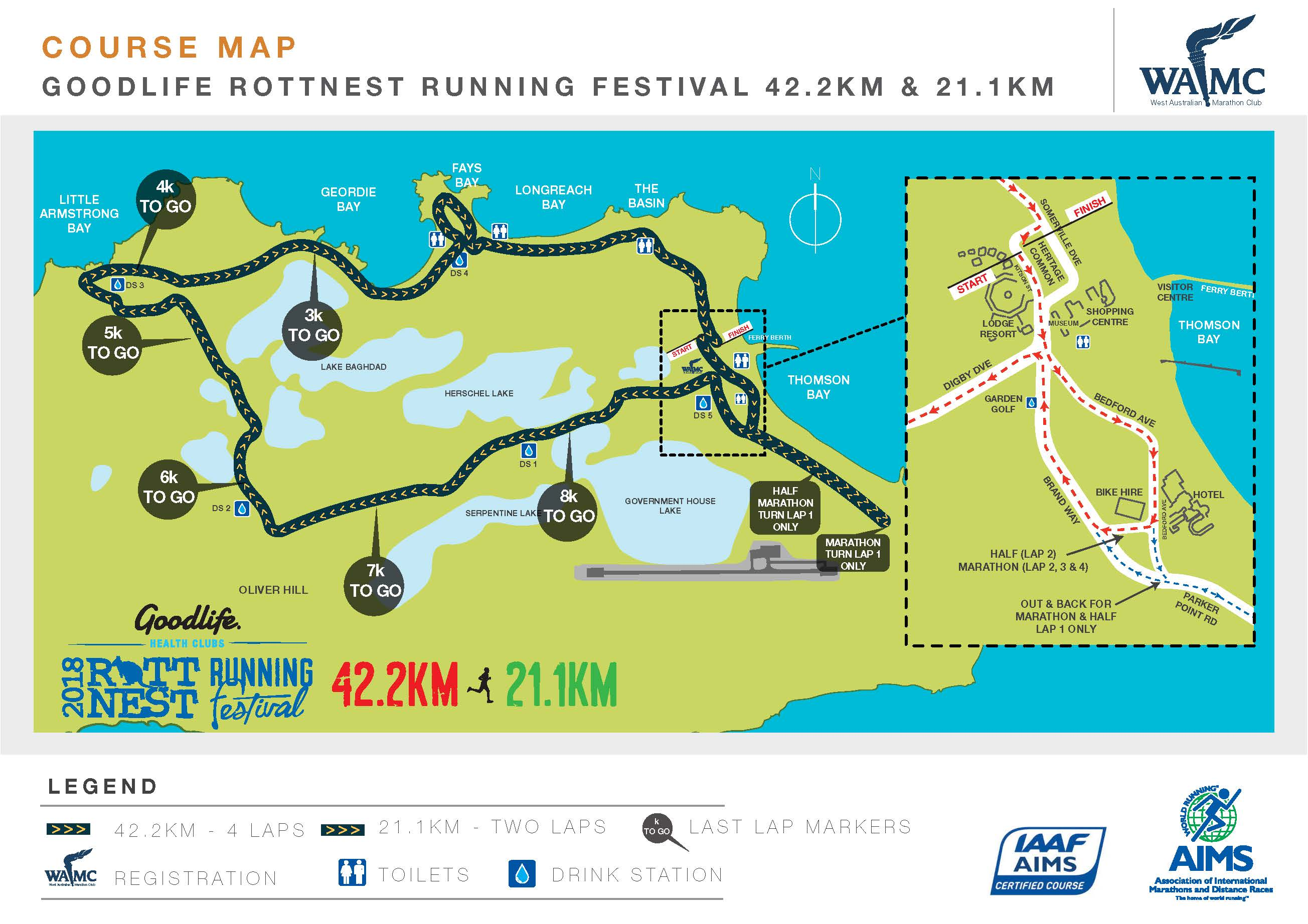 Race Review: 2018 Goodlife Rottnest Island Marathon (by