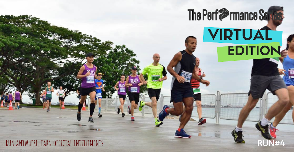 Logo of Virtual Run 4: The Performance Series 2018 edition