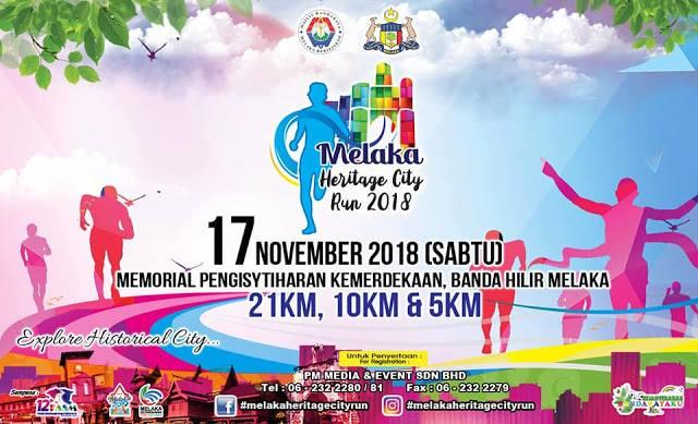 Melaka Heritage City Run 2018