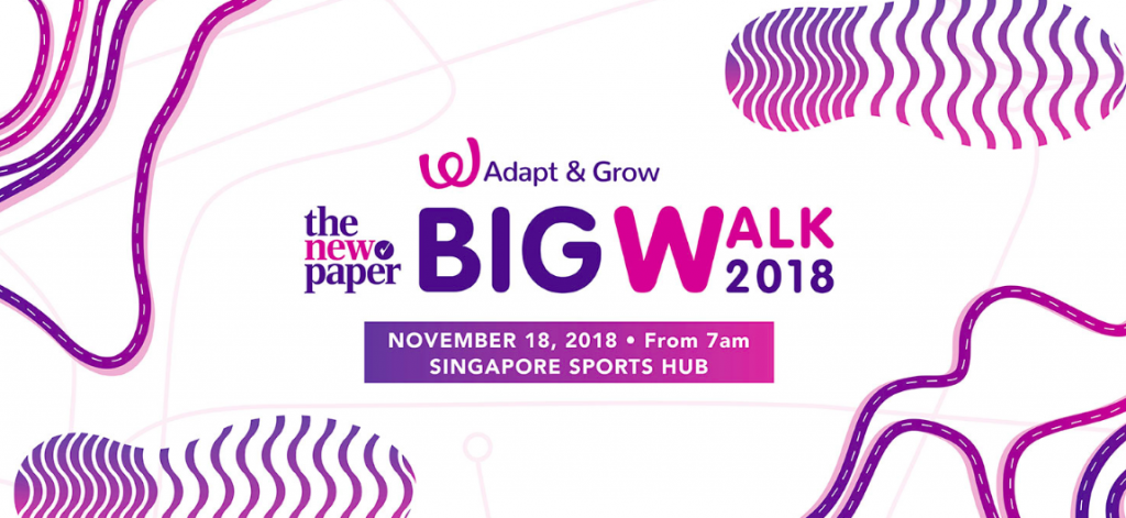 The New Paper Big Walk 2018
