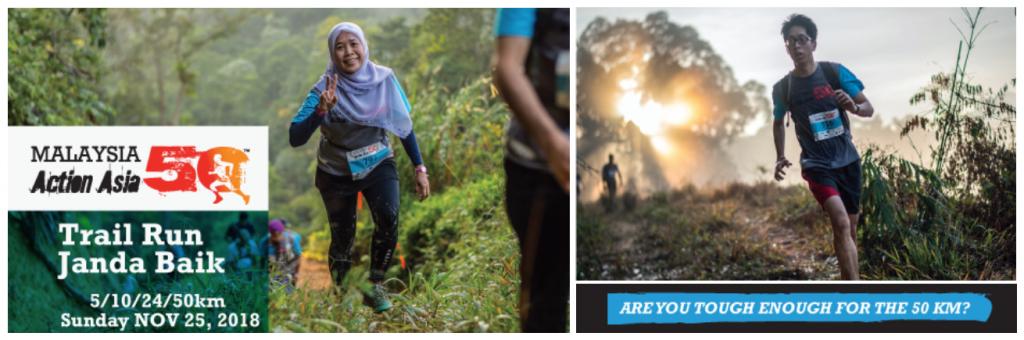 Malaysia Action Asia 50 – Janda Baik Pahang 2018