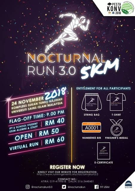 Nocturnal run 3.0 USIM 2018