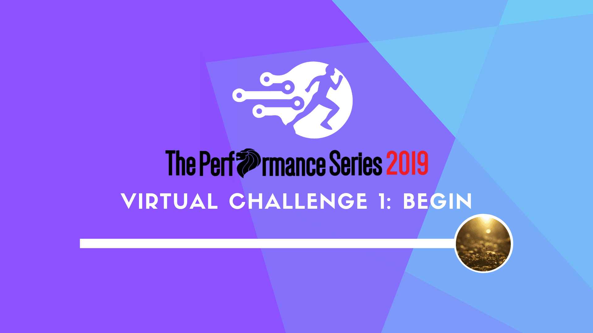 Logo of The Performance Series 2019 Virtual Challenge 1: Begin