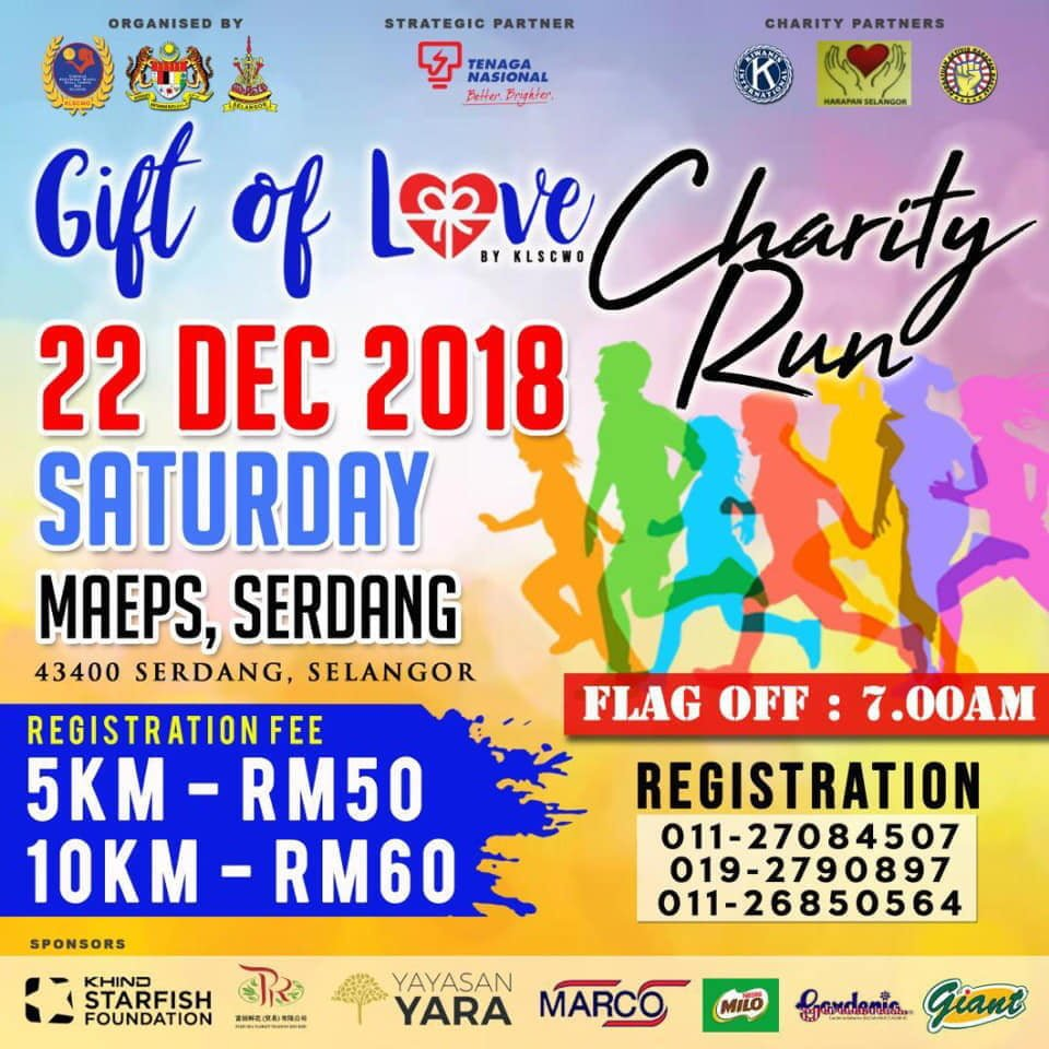 Gift of Love Charity Run 2018