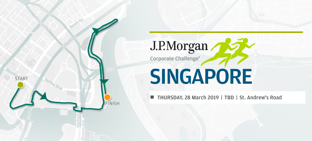 J.P. Morgan Corporate Challenge Singapore 2019