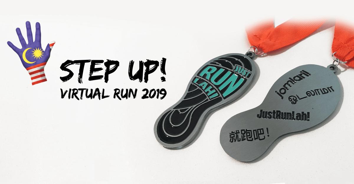Logo of Step Up Virtual Run 2019 – Malaysia