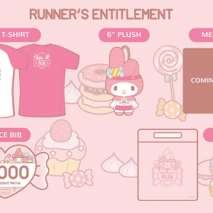 My Melody Run Singapore 2019: Sweet Rush