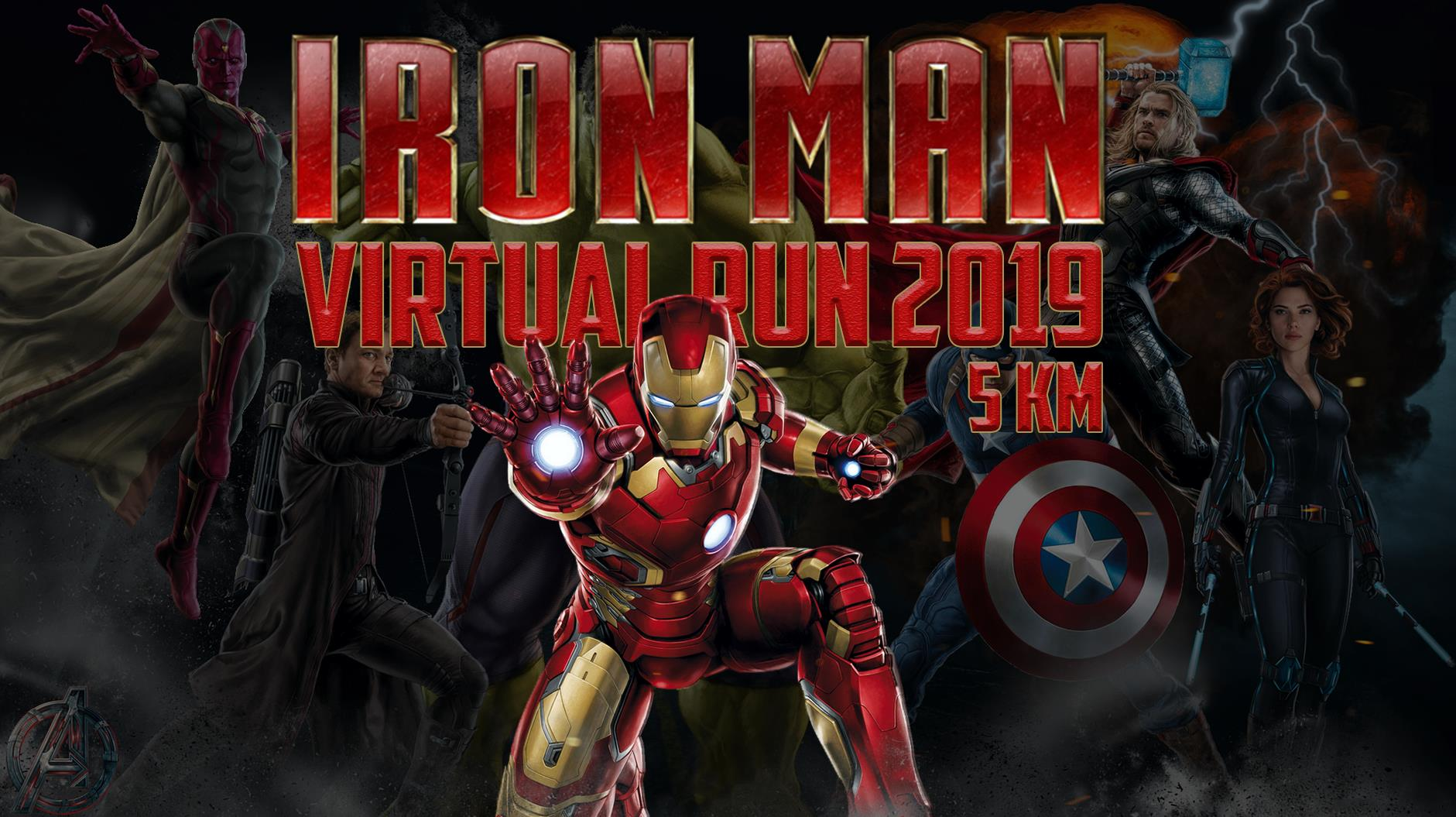 Logo of Ironman Virtual Run 2019