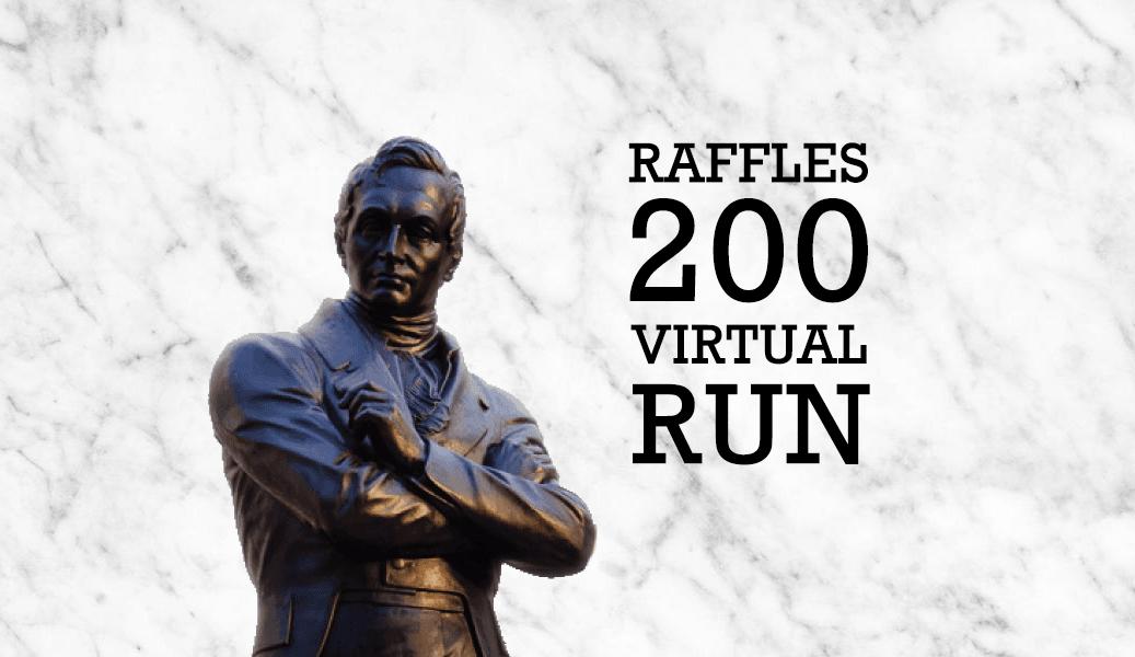 Logo of Raffles 200 Virtual Run