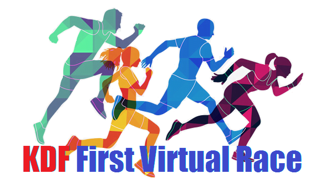 Logo of KDF Charity Virtual Race 2019