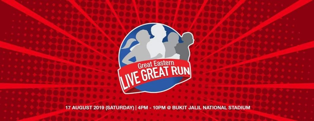 Great Eastern LIVE GREAT Run 2019