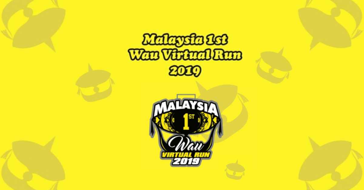 Logo of 1st Malaysia Wau Virtual Run 2019