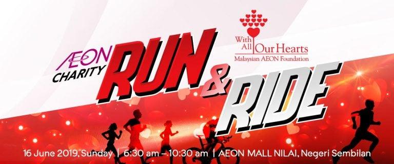 AEON Charity Run and Ride 2019