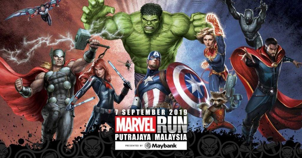 Marvel Run Malaysia 2019