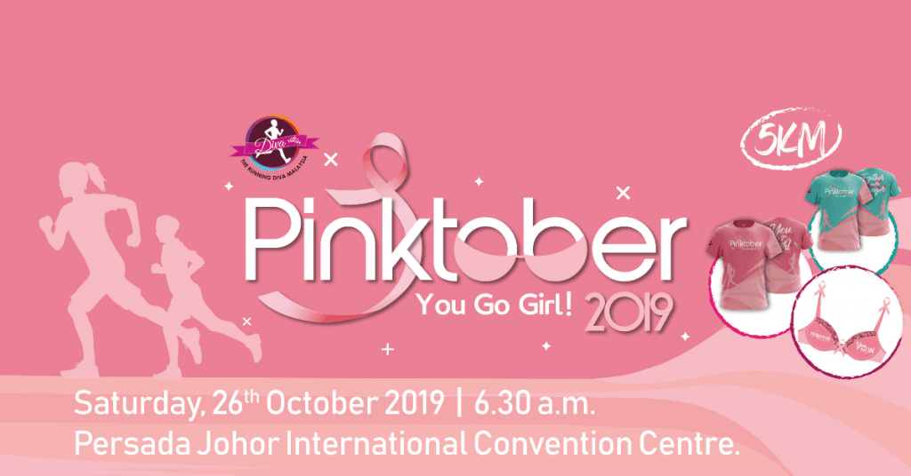 The Running Diva Malaysia Pinktober Johor 2019