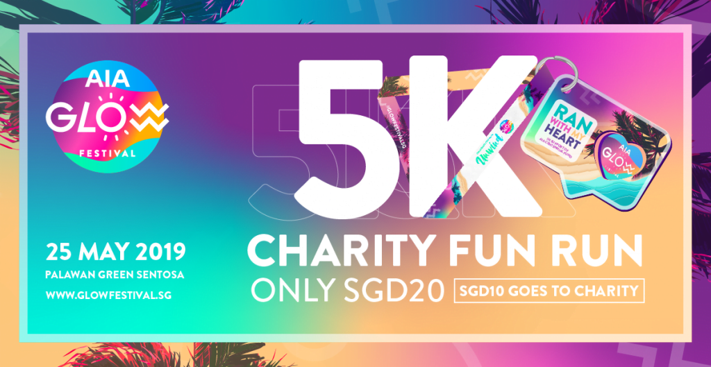 AIA Glow Festival 2019 | 5K Charity Fun Run