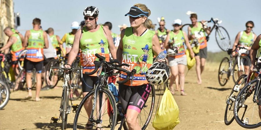 Julia Creek Dirt n Dust Festival Triathlon 2019