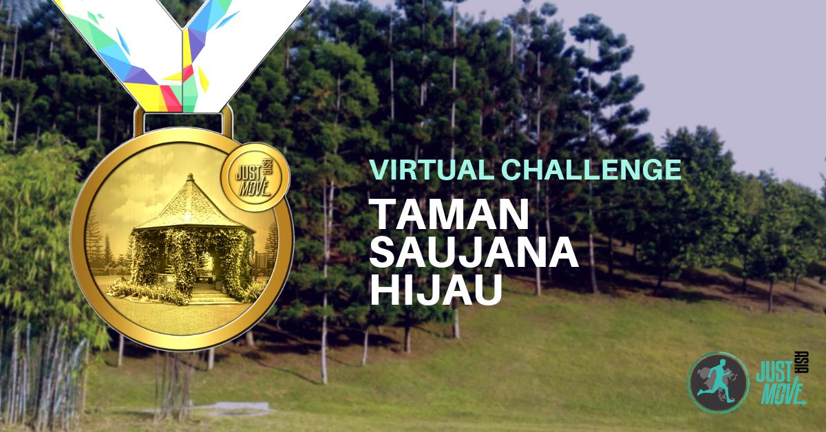 Logo of Taman Saujana Hijau Virtual Challenge