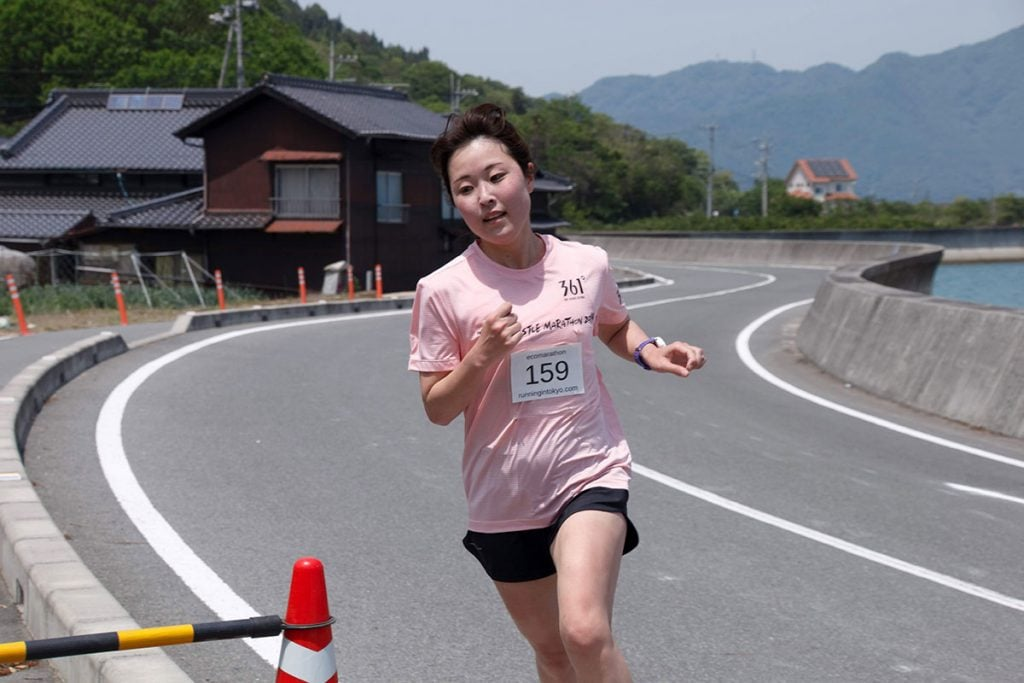 The 17th Kamogawa Eco Marathon