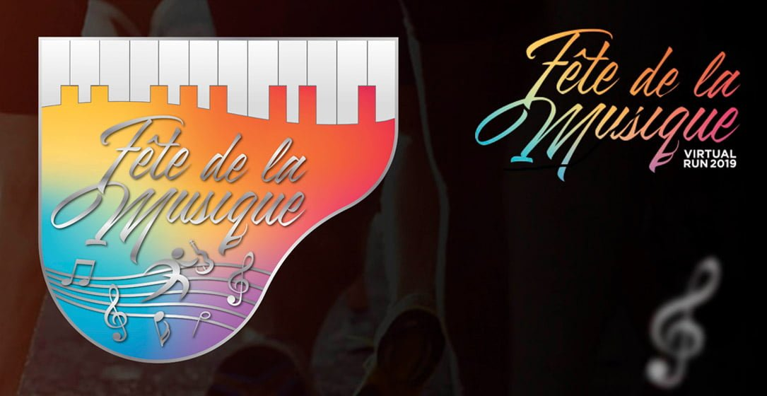 Logo of Fete De La Musique Virtual Run 2019