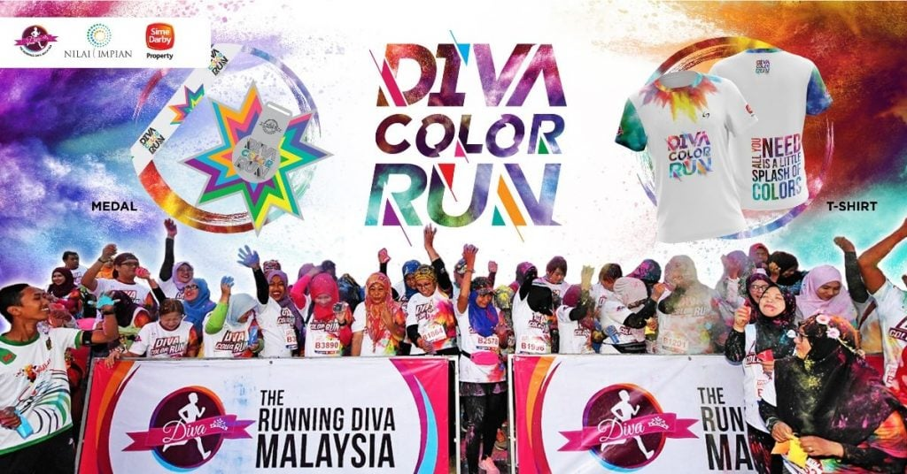 The Running Diva Malaysia Color Run (Nilai Impian) 2019
