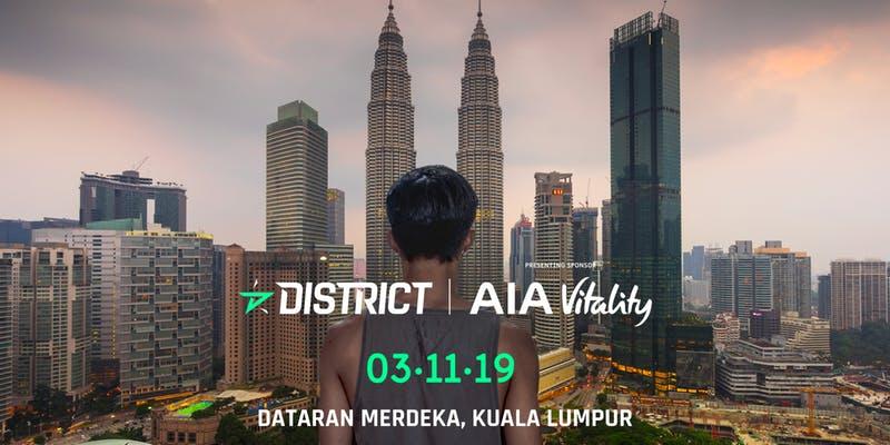 District Race Kuala Lumpur by AIA Vitality 2019