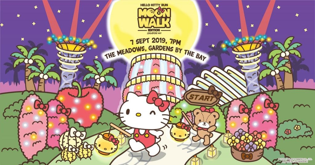 Hello Kitty Run Singapore – Moon Walk Edition 2019