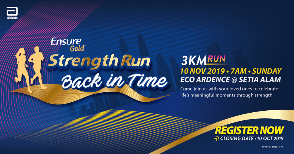 Ensure Gold Strength Run 2019