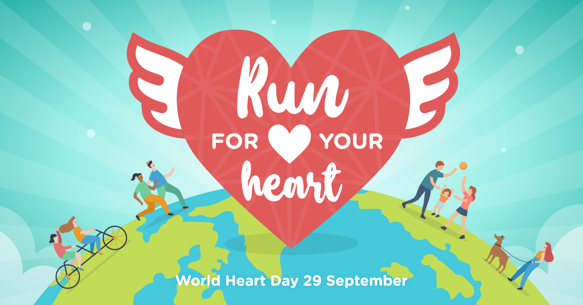Logo of Run For Your Heart – Virtual Run 2019
