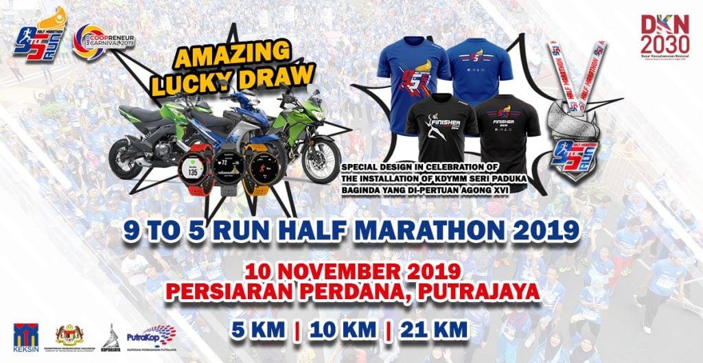 9to5 Half Marathon 2019
