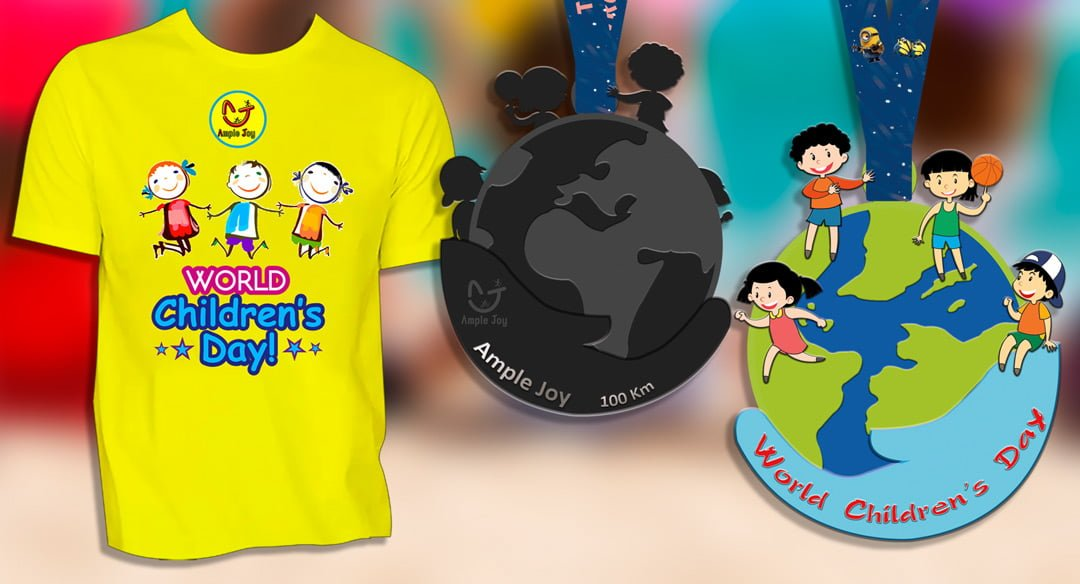 Logo of vCare vLove vRun for Children 2019