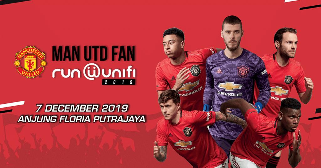 Man Utd Fan Run @ unifi