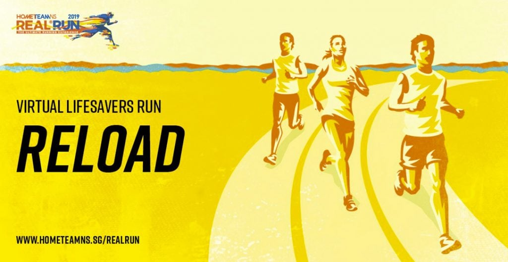 Logo of REAL® Run – Virtual Lifesavers Run 2019