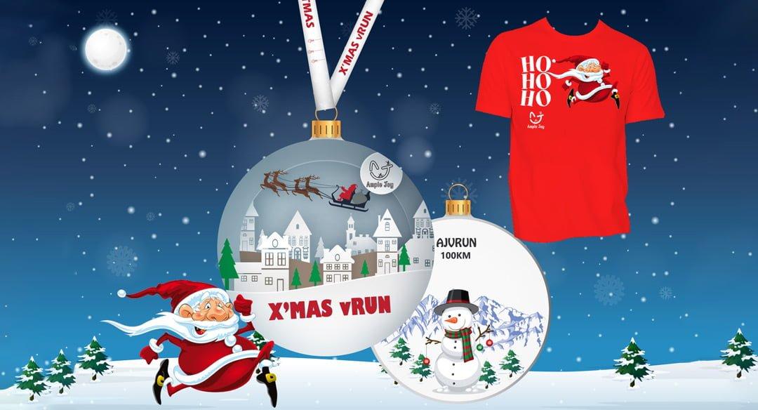 Logo of Ho Ho Ho vRun with Santa Claus 2019
