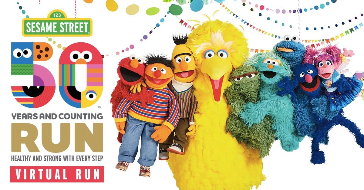 Logo of Sesame Street Virtual Run 2019