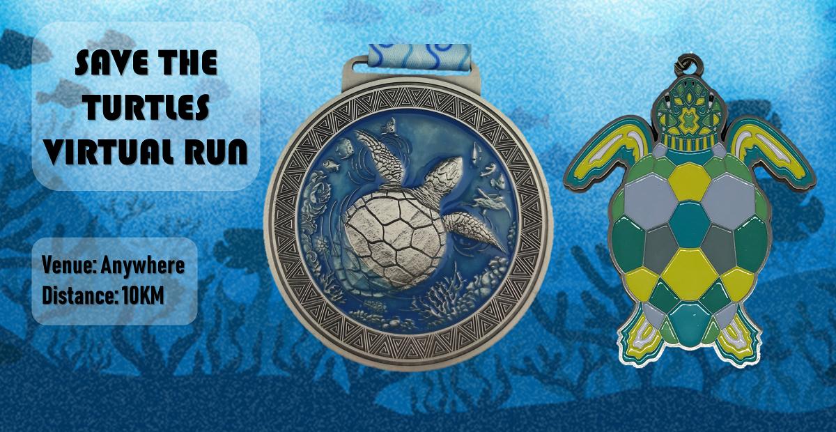 Logo of Save the Turtles Virtual Run 2019