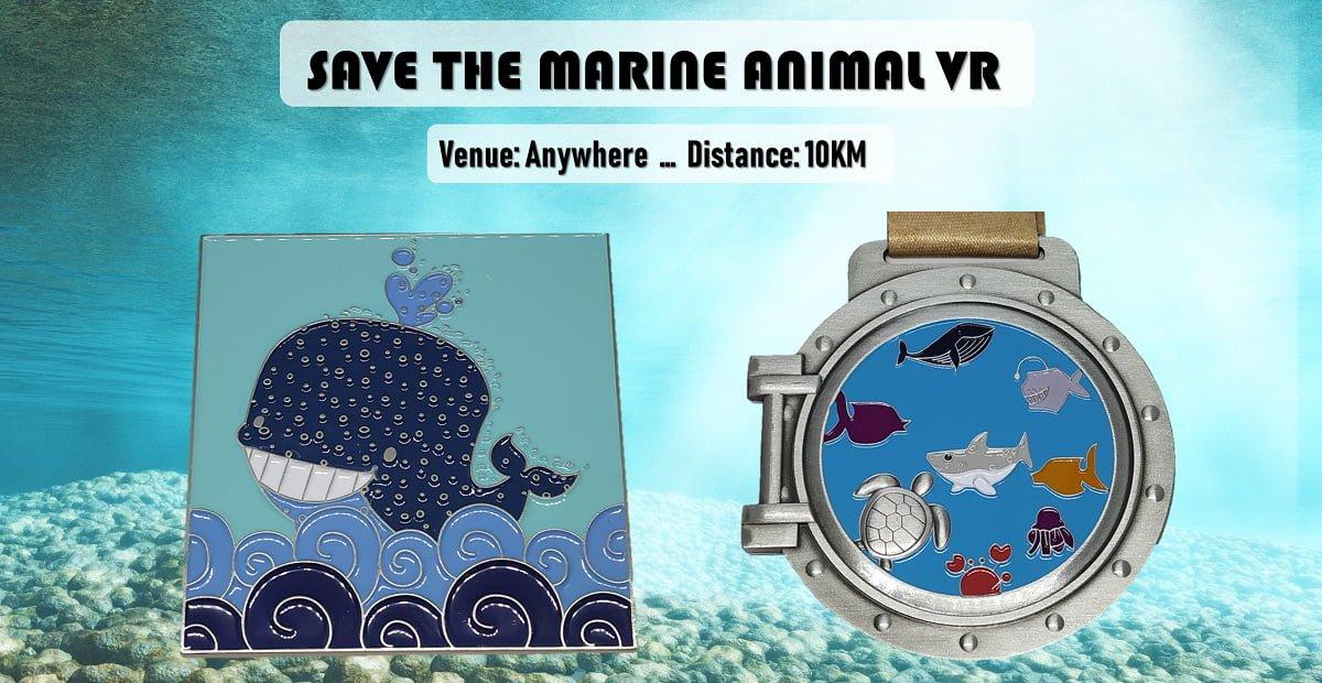 Logo of Save the Marine Animals Virtual Run 2019