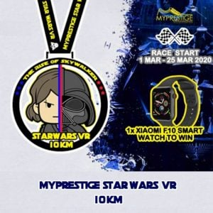 MyPrestige Star Wars Virtual Run 10KM 2020