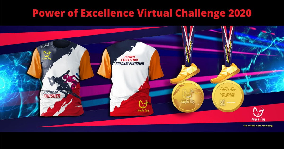 Logo of Power of Excellence Virtual Challenge 2020