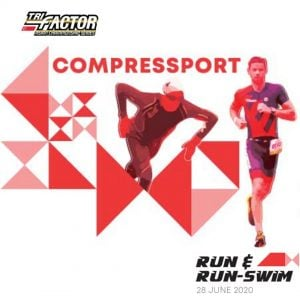 TRI-Factor Singapore Series Compressport Run & Run-Swim Challenge 2020