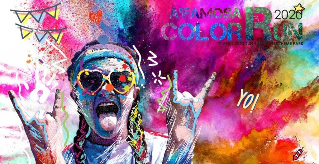 A'Famosa Color Run 2020