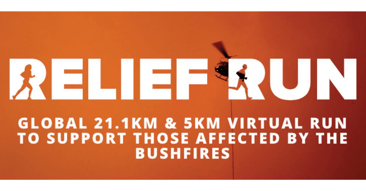 Logo of Relief Run 2020