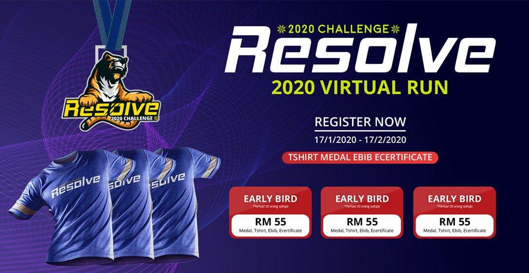 Logo of Resolve 2020 Virtual Run