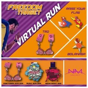 The Freedom of Target Virtual Run 2020