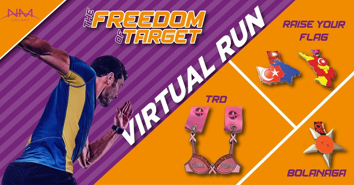 Logo of The Freedom of Target Virtual Run 2020