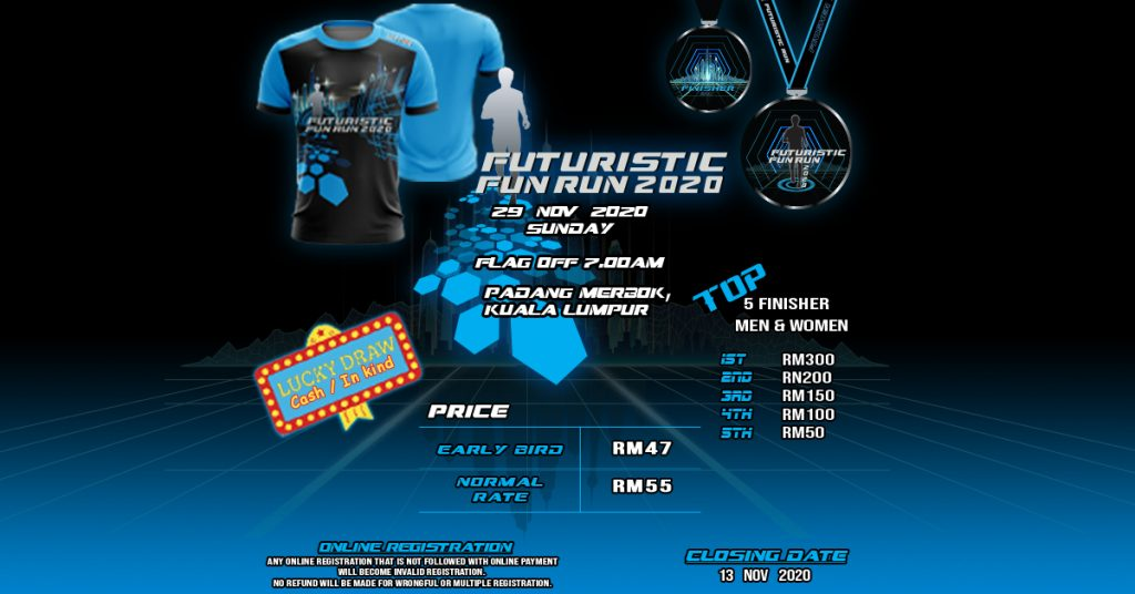 Futuristic Fun Run 2020