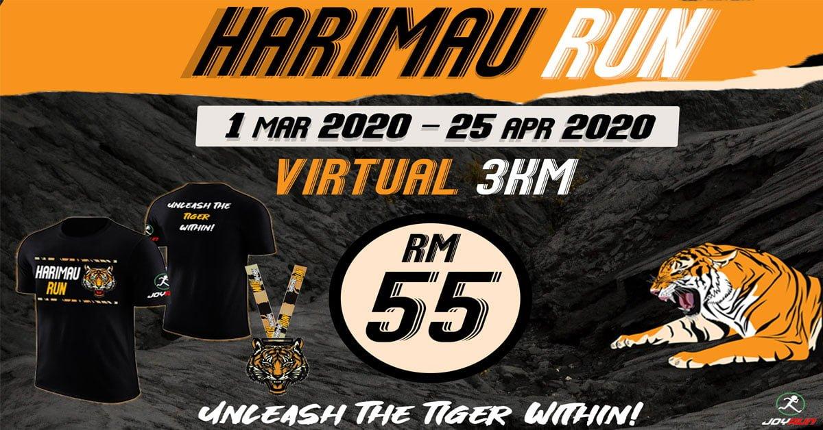 Logo of Harimau Virtual Run 2020